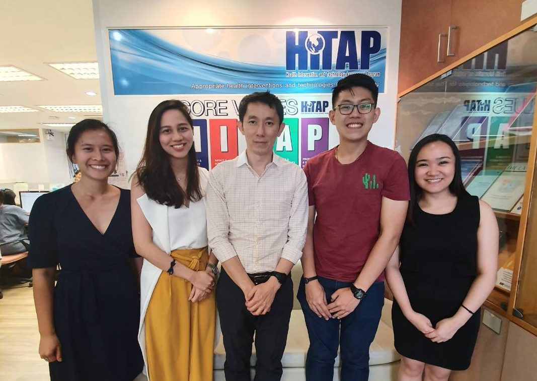 The Philippines HTA Unit STEP visits HITAP