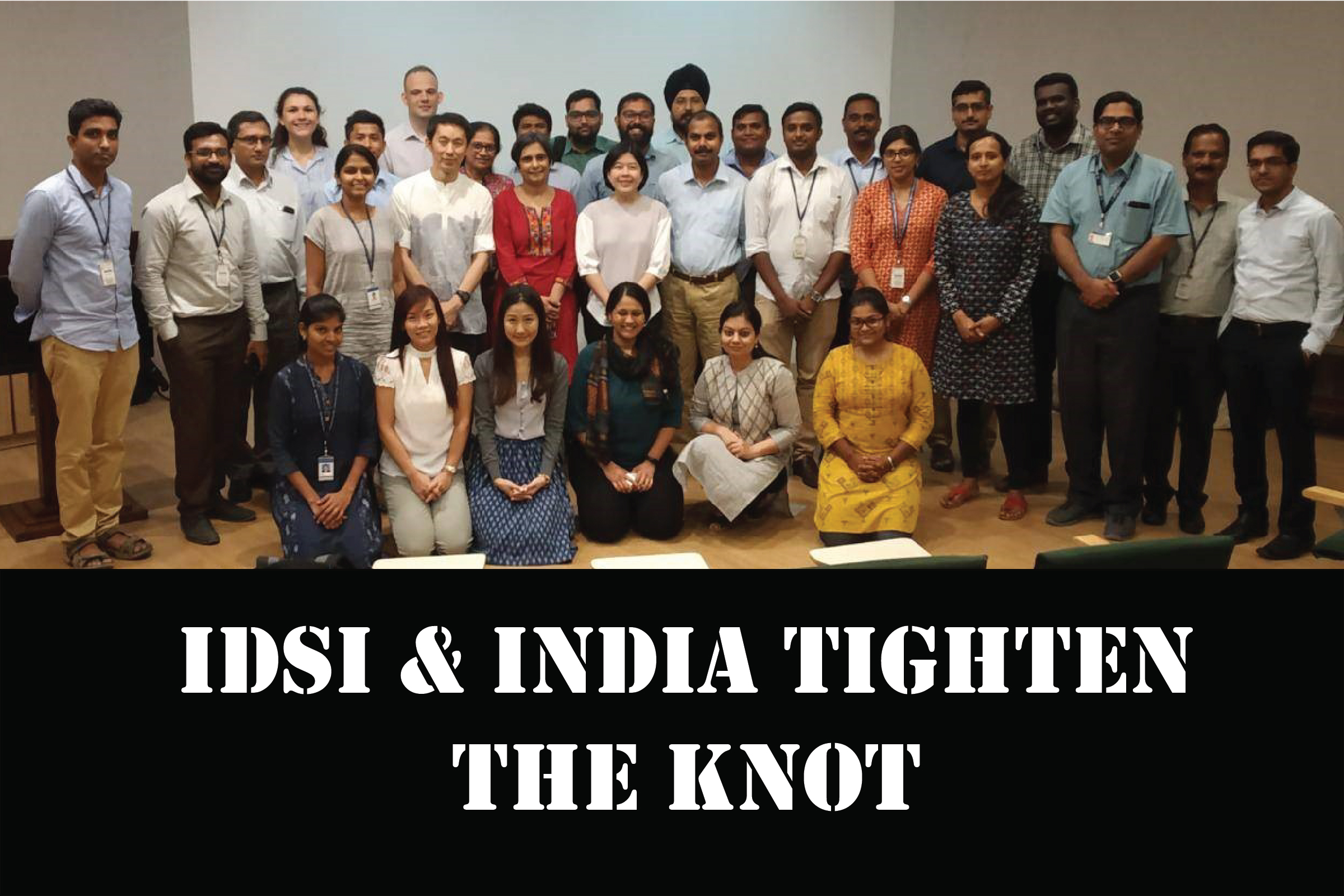 iDSI & India tighten the knot with an HTA workshop and masala dosa!