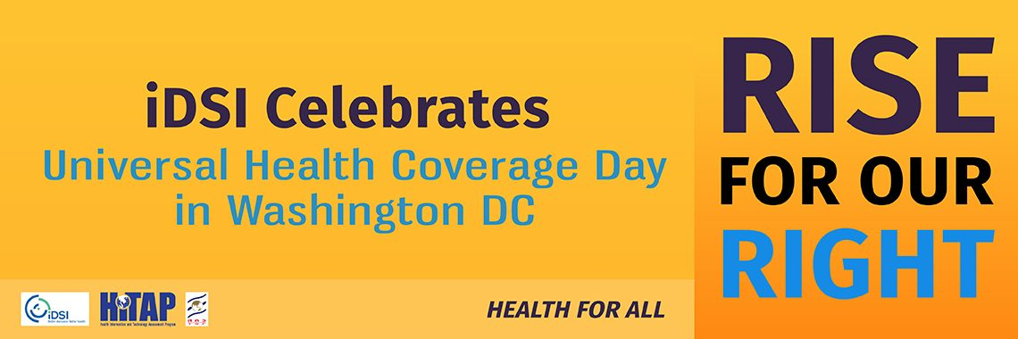 iDSI celebrates Universal Health Coverage Day
